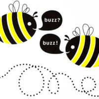 Bees buzzing