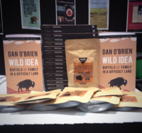 Galleys of WILD IDEA at BEA 2014